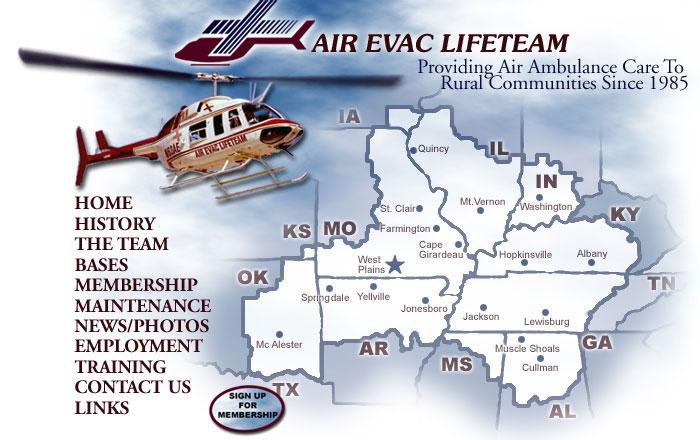 Air Evac Homepage